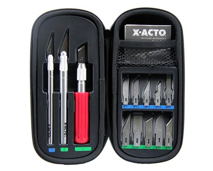 美國X-ACTO|金屬專業筆刀工具組 ( X5285 )