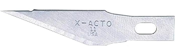 美國X-ACTO|碳鋼筆刀刀片 ( X211#11 )