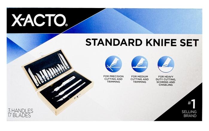 (複製)美國X-ACTO|碳鋼筆刀刀片 ( X211#11 )