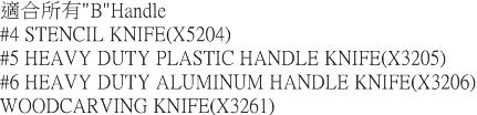 (複製)美國X-ACTO|筆刀刀片 ( X611#11 )