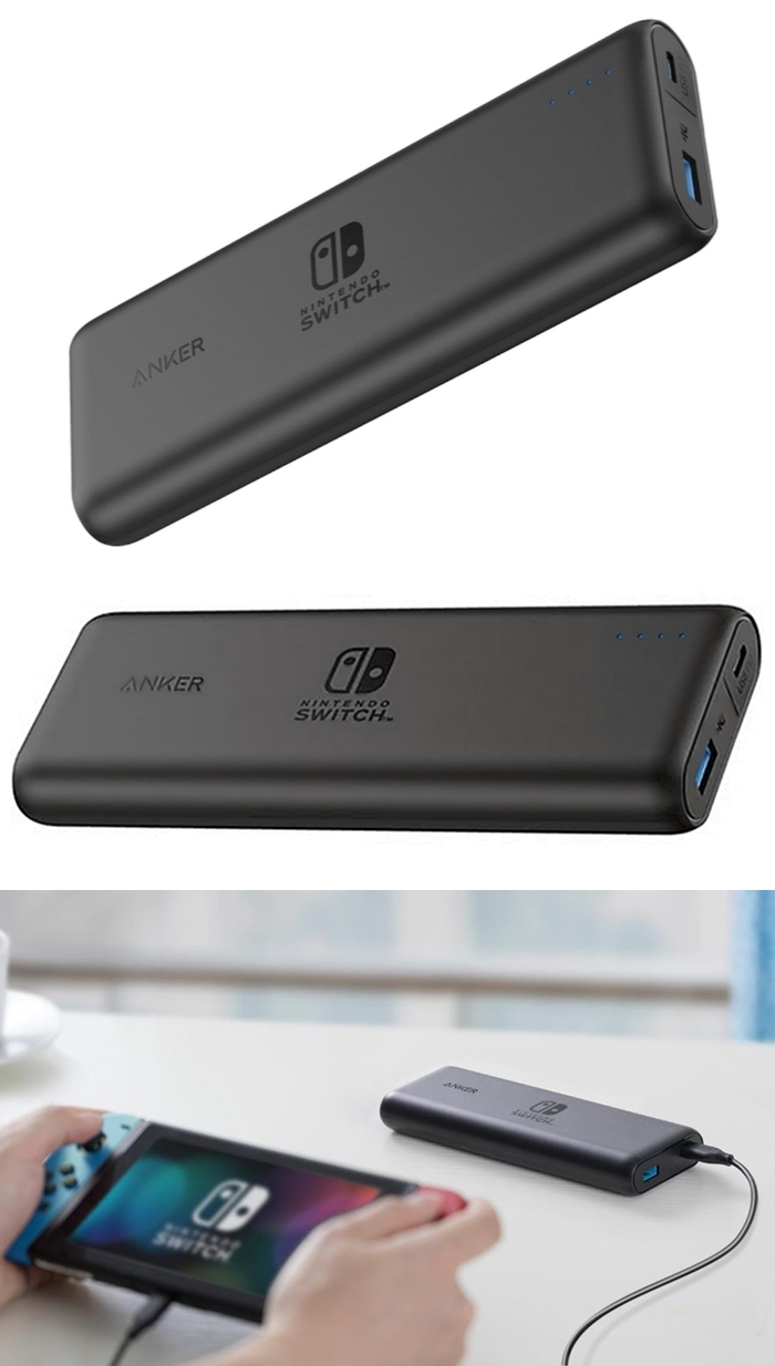美國Anker|PowerCore Speed PD任天堂Nintendo Switch行動電源 ( A1275S11 )