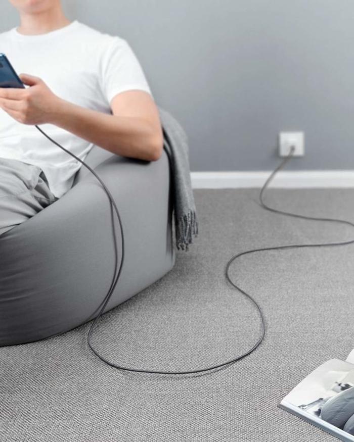 美國Anker|Powerline+ USB-C轉USB充電線3公尺數據傳輸線 ( A82670A1 )