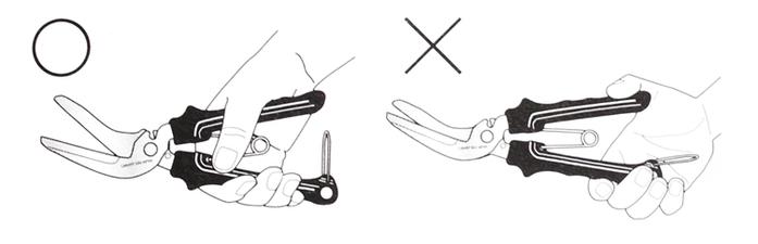日本CANARY 多功能工具剪刀工作剪刀不鏽鋼剪刀 ( NAW-205B )