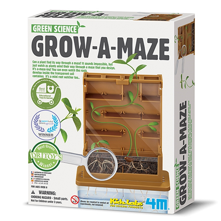 4M|綠色科學Green Science Grow-A-Mate植物迷宮 (00-03352)
