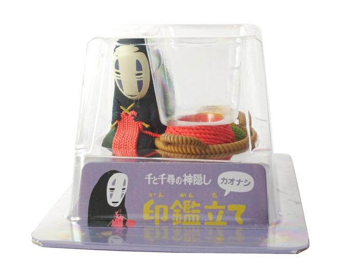 日本ENSKY 神隱少女無臉男印鑑立印章座 ( IKT-05 )