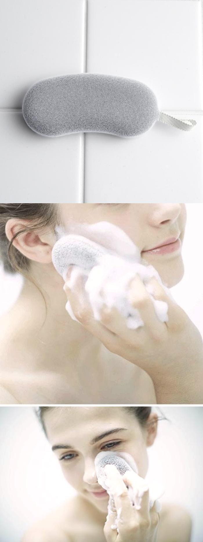 日本COGIT 手竹炭超細纖維起泡沐浴海綿 ( 278761 )