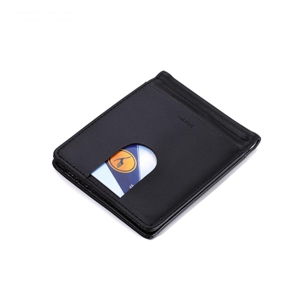 德國TROIKA|紳仕皮夾錢夾經典皮夾男短夾午夜黑錢包 ( MYC29/LE )