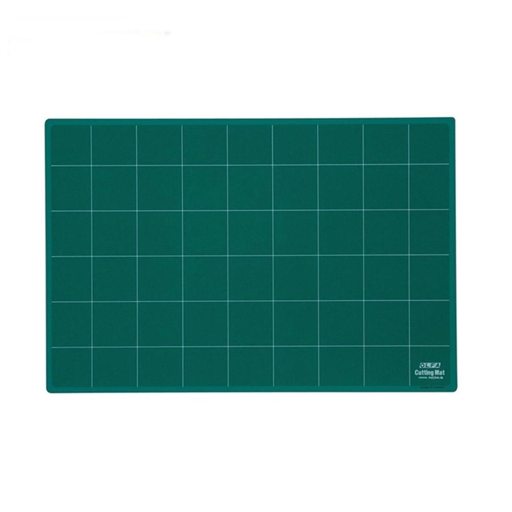日本OLFA 經典綠8K切割墊八開裁切墊桌墊(450×300×3mm;NCM-S )