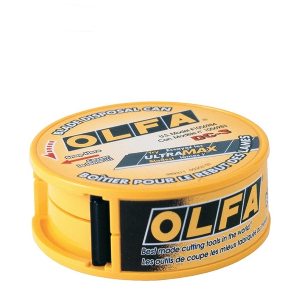 日本OLFA|折刃器刀片處置盒廢棄刀片收納盒 ( DC-3 )