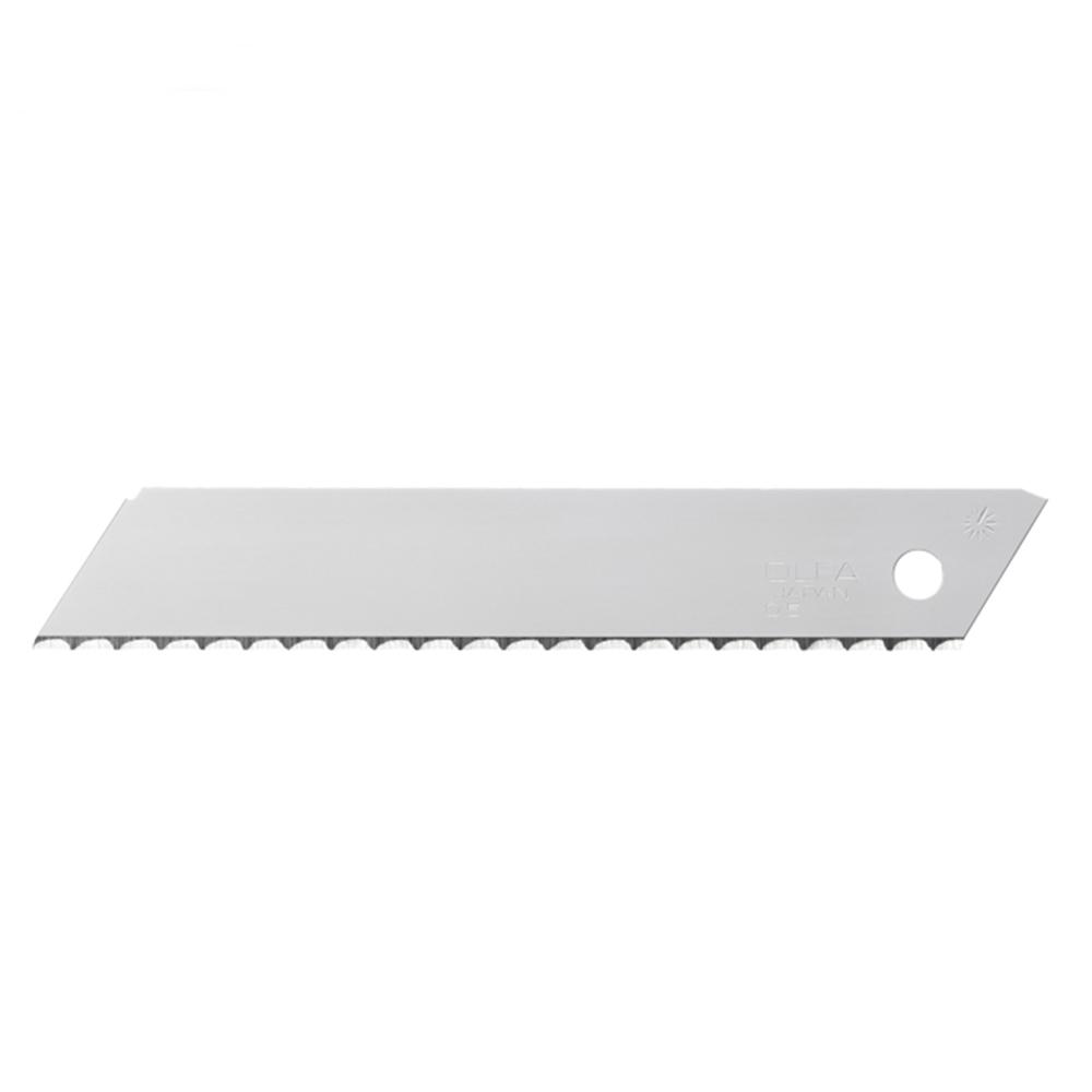 日本OLFA|波浪型刀片替刃波狀刀鋒大型刀片18mm刀片 ( LWB-3B )