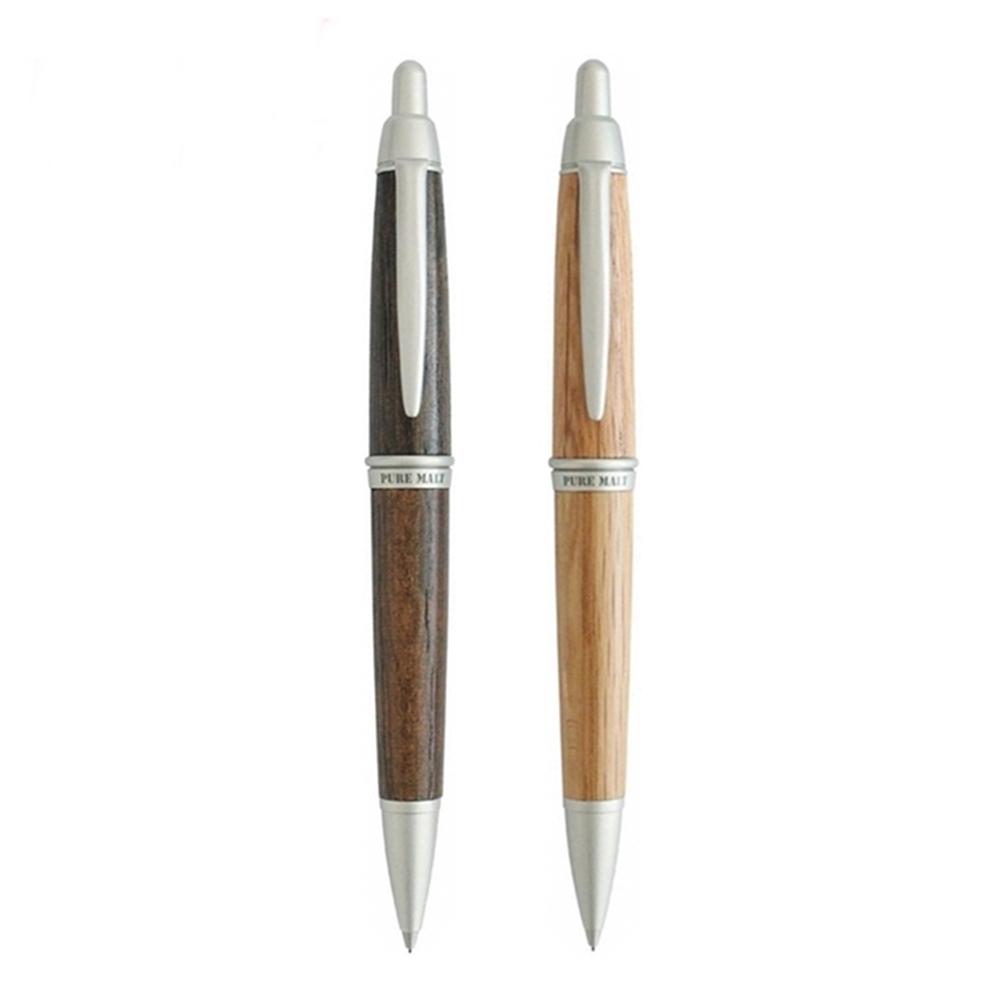 日本UNI|橡木自動鉛筆樽桶PURE MALT系列(筆芯:0.5mm;日本原裝進口; M5-1015)