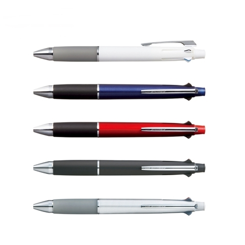 日本UNI|4+1機能筆4色紅藍綠黑Jetstream油性0.7mm原子筆+自動鉛筆 (MSXE5-1000-07)