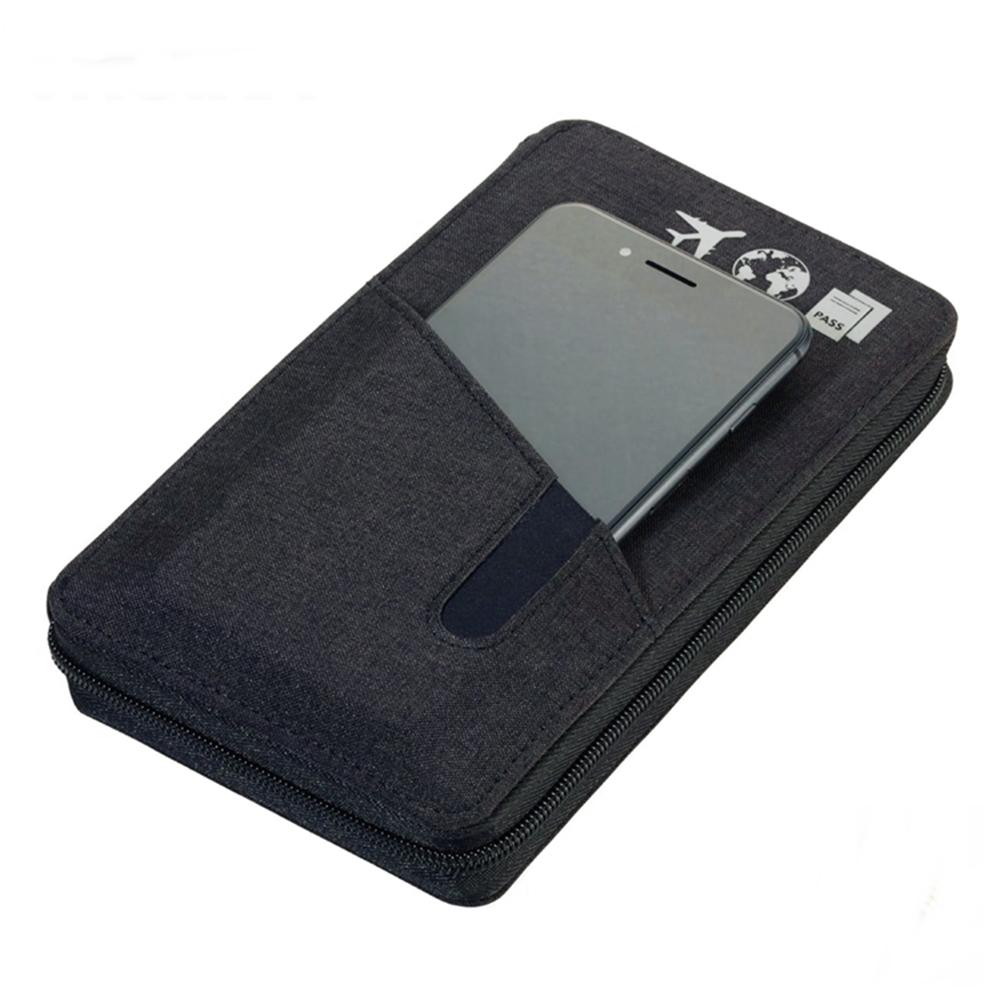 德國TROIKA|防RFID-NFC信用卡防盜刷防側錄旅行護照錢包 ( TRV90/DG)