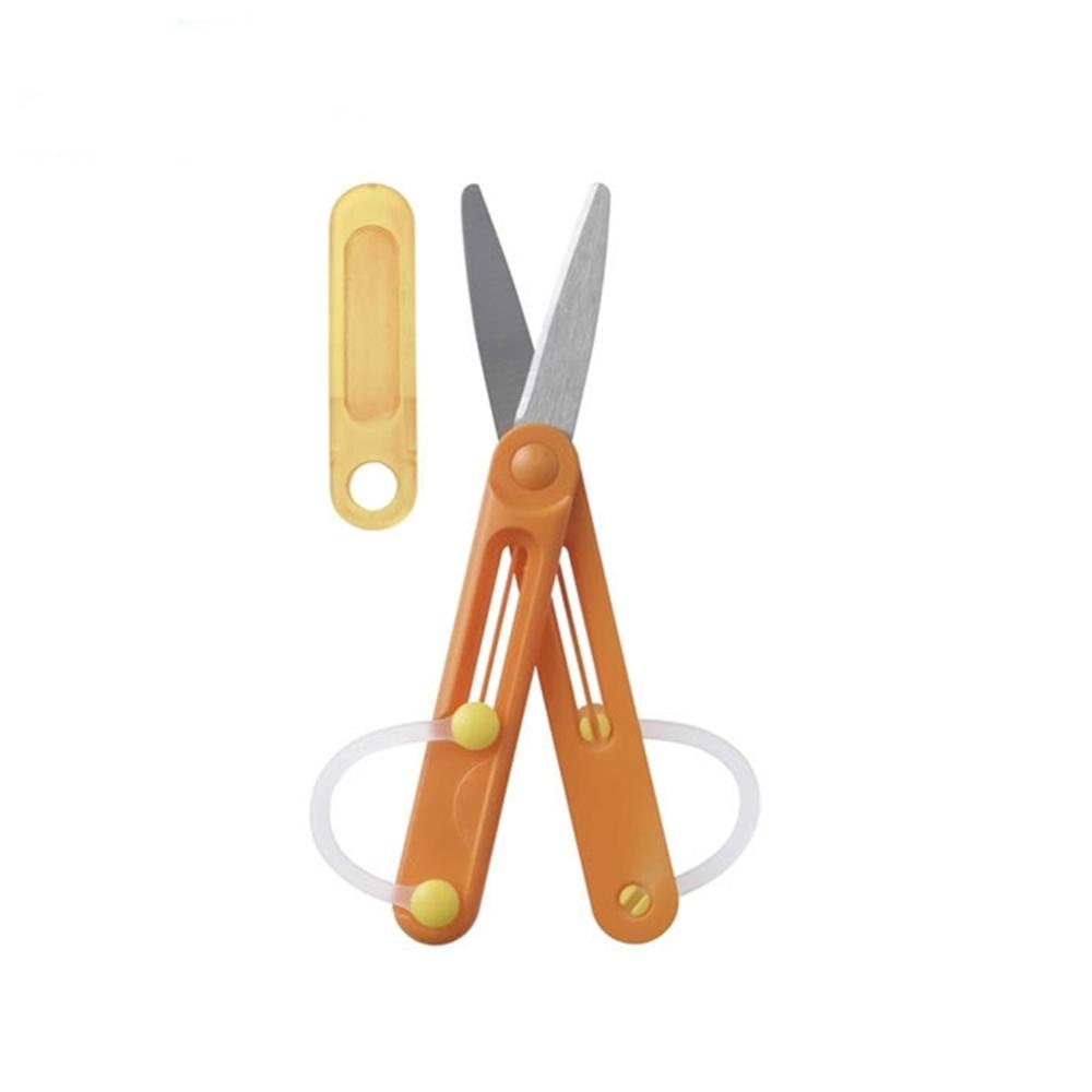 日本Raymay|左手用筆型剪刀兒童左手剪刀 ( SHH505D )