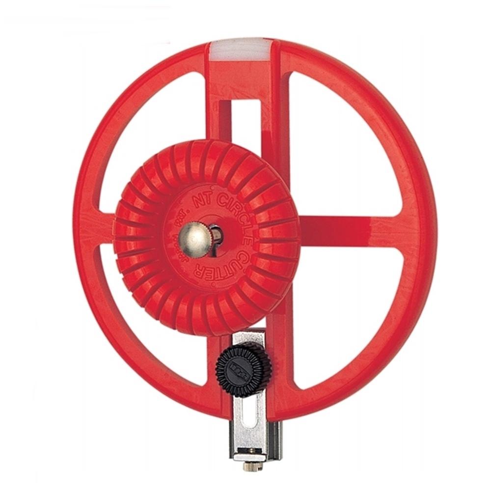 日本NT Cutter|割圓器圓形切割器 (可切圓形直徑3-16公分;附BC-400刀片2片;C-2500P )
