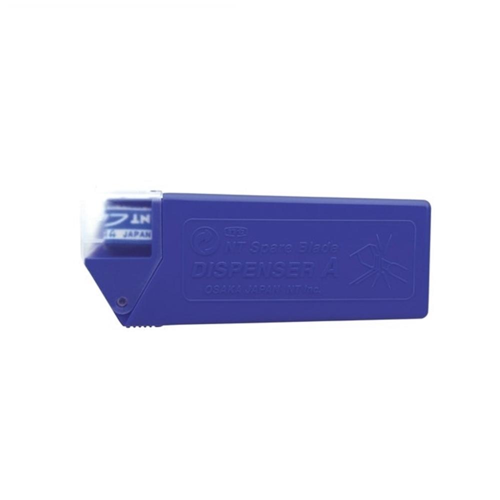 日本NT Cutter|折刃式刀片 58度美工刀替刃 ( 10入;合金工具鋼;BA-160 )