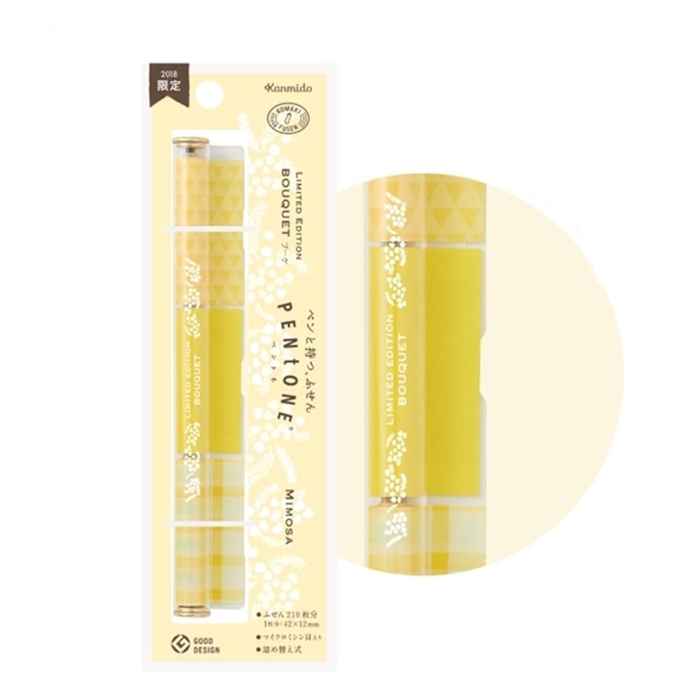 日本Kanmido PENtoNE 筆型便條紙含羞草 ( PT-1009 )