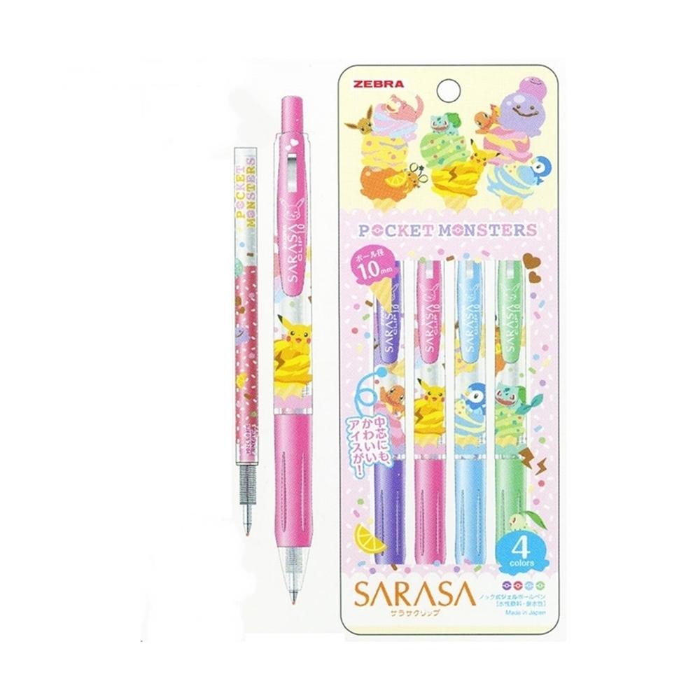 日本SHOWA NOTE|ZEBRA SARASA原子筆(皮卡丘/筆芯:1.0mm ; 860 7280 04-900B)
