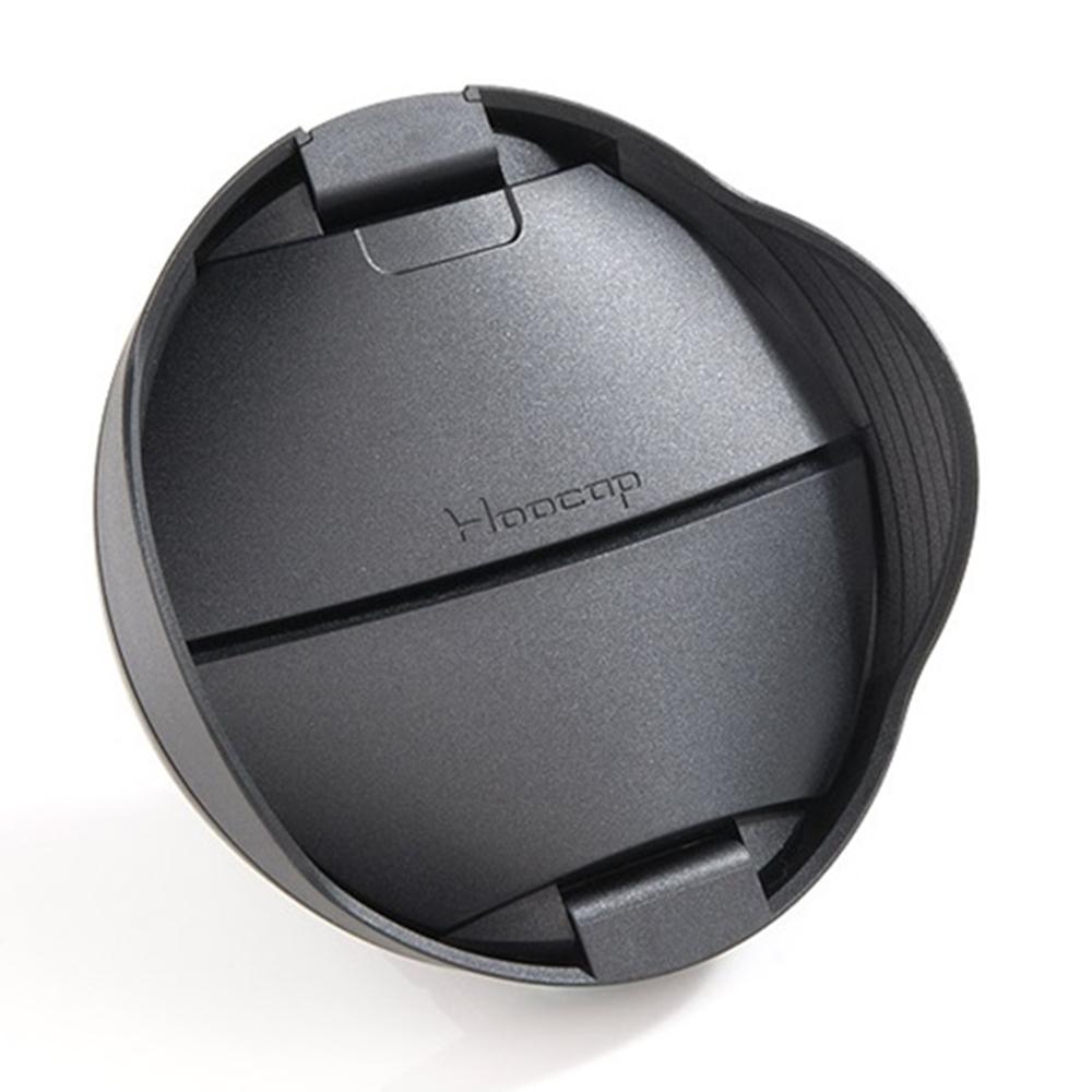 台灣HOOCAP|二合一鏡頭蓋兼遮光罩 ( 適口徑72mm的半自動鏡頭蓋 ; TR72 )