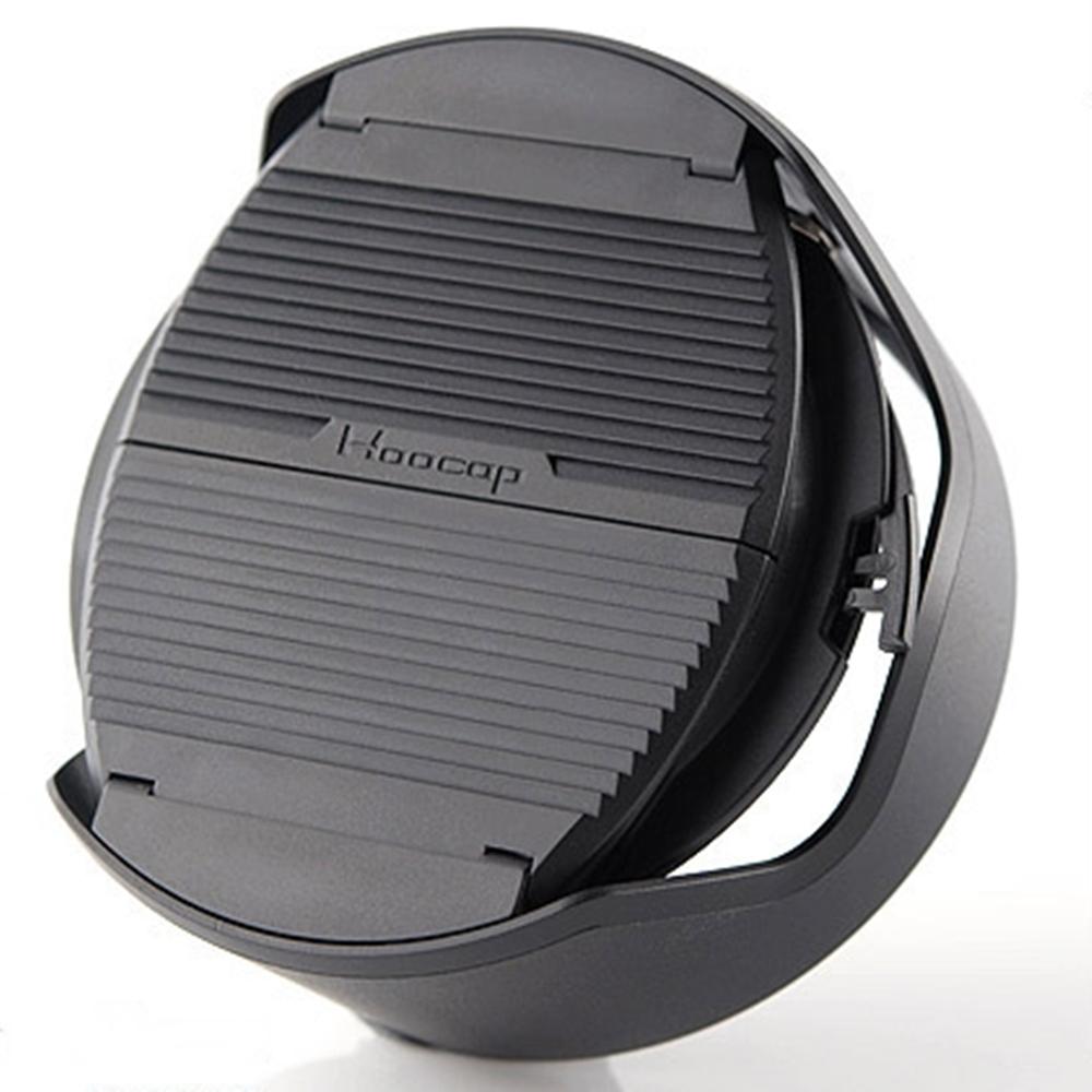 台灣HOOCAP|二合一鏡頭蓋兼遮光罩 ( 適口徑46mm的半自動鏡頭蓋 ; TM46 )