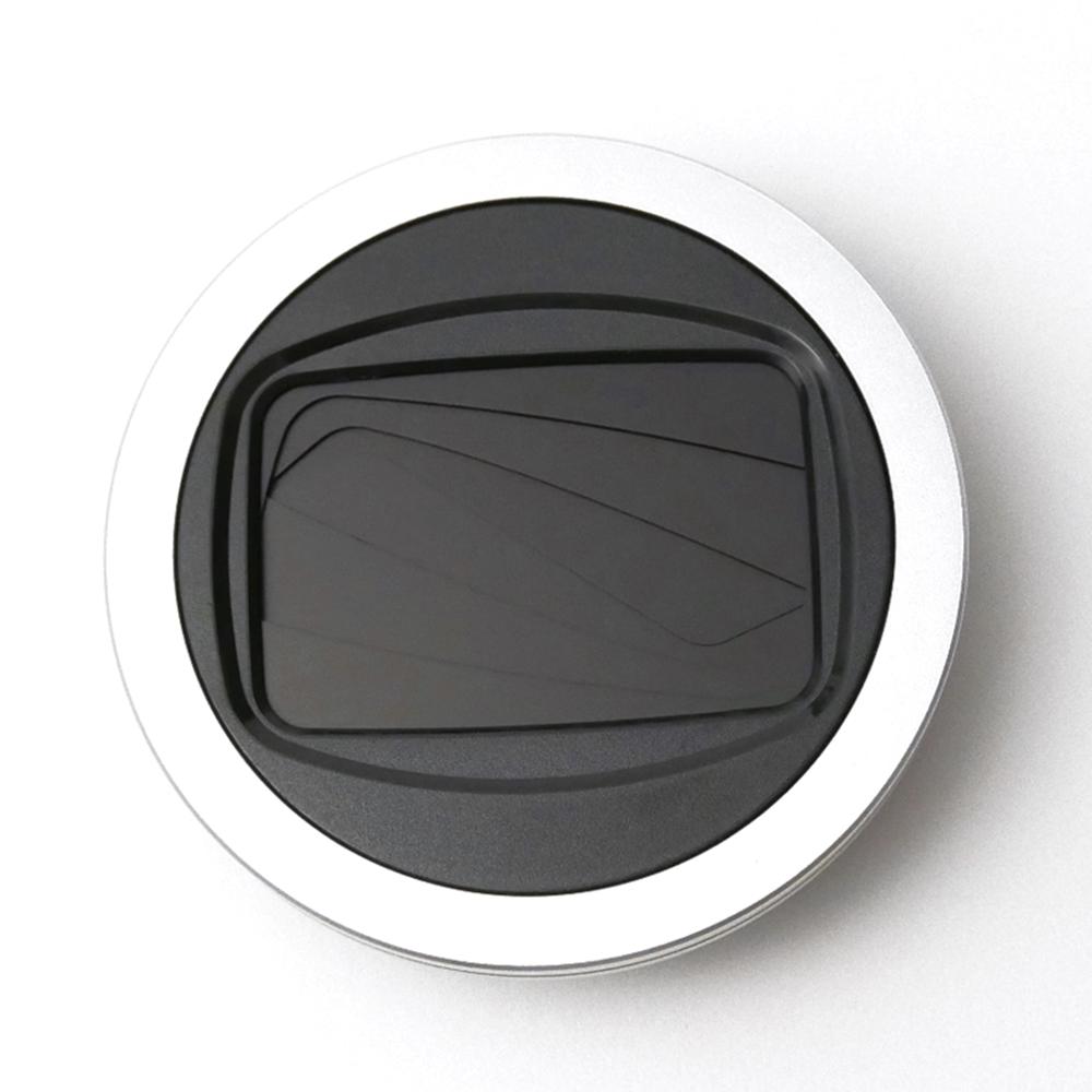 Freemod|半自動鏡頭蓋含STC保護鏡 ( X-CAP2 46mm Silver+保護鏡 )