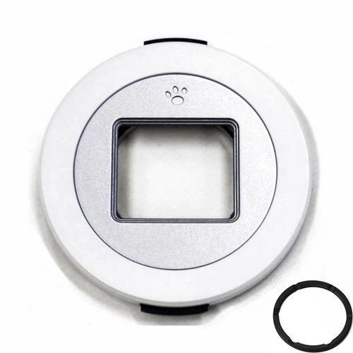 Freemod|X-CAP第1代自動鏡頭蓋賓士蓋 ( 適Canon佳能EF-M 22mm F2.0餅乾鏡;White白色+43-37轉接環 )