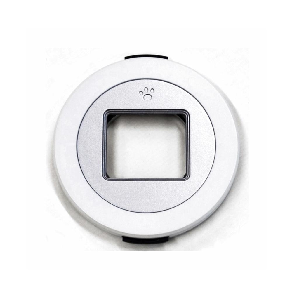 Freemod|X-CAP第1代自動鏡頭蓋賓士蓋 ( 適口徑37mmPanasonic國際X鏡14-42mm f3.5-5.6 PZ ; White白色 )