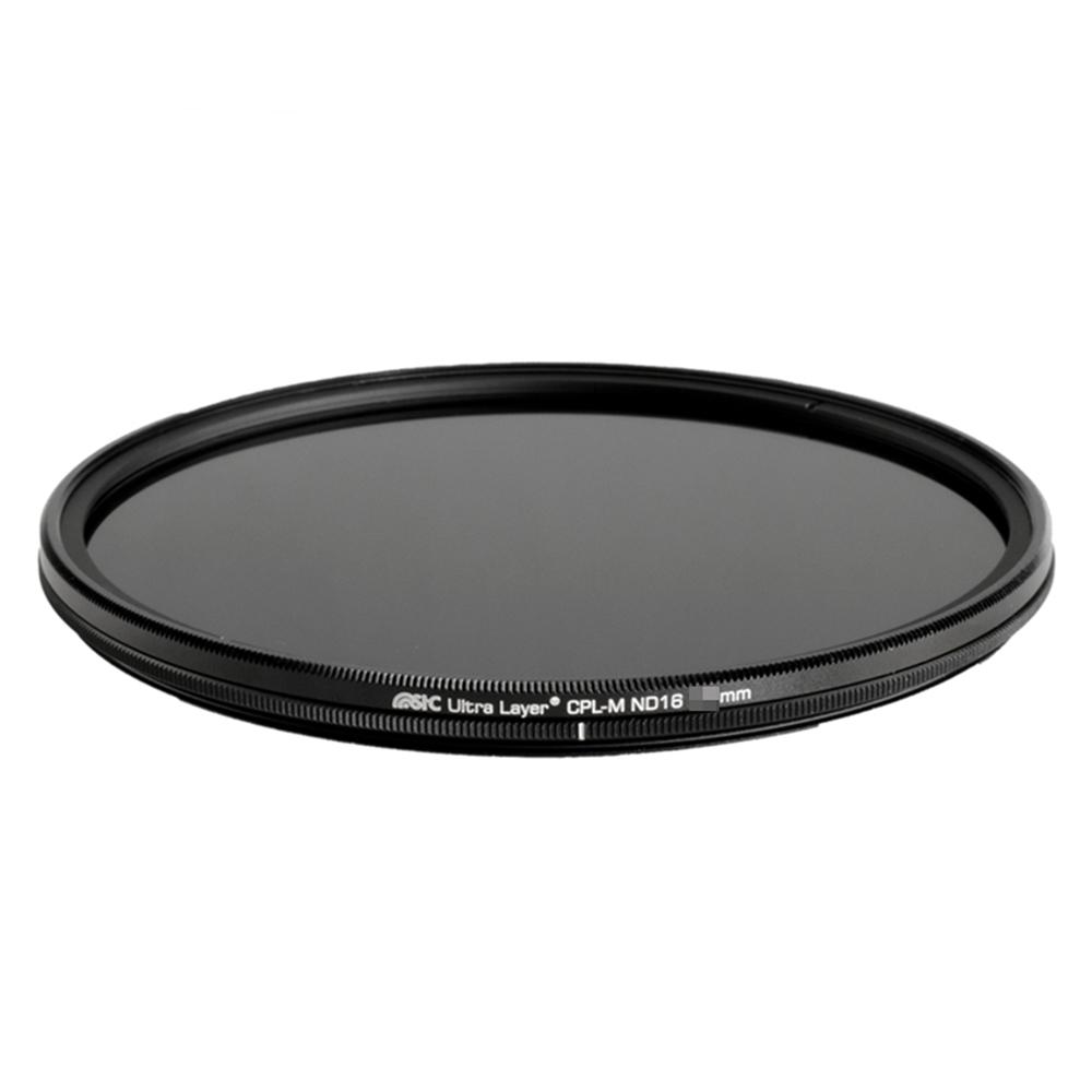 台灣STC|低色偏多層奈米AS鍍膜MC-CPL兼ND減光鏡(CPL-M ND16 77mm偏光鏡)