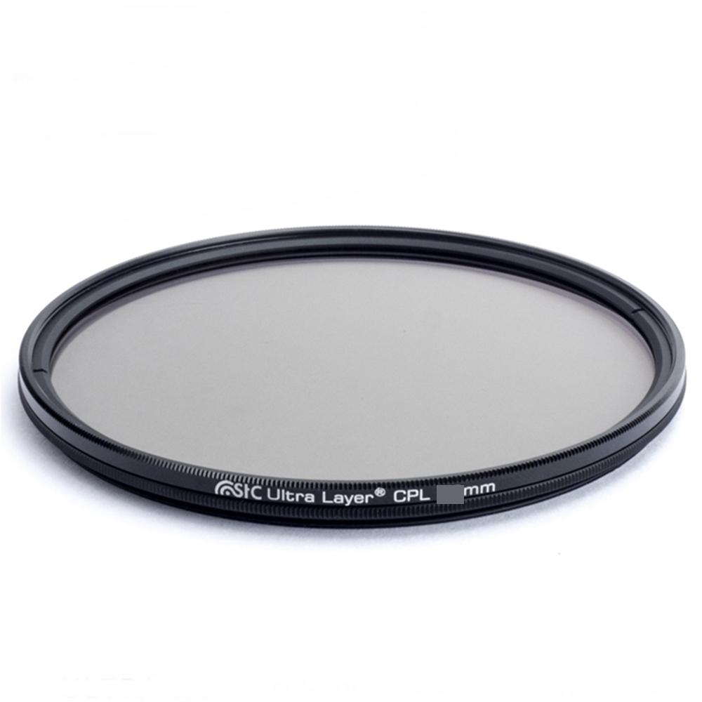 台灣STC 抗靜電超薄框MC-CPL偏光鏡 ( 多層膜;高解析SHV CIR-PL 46mm )