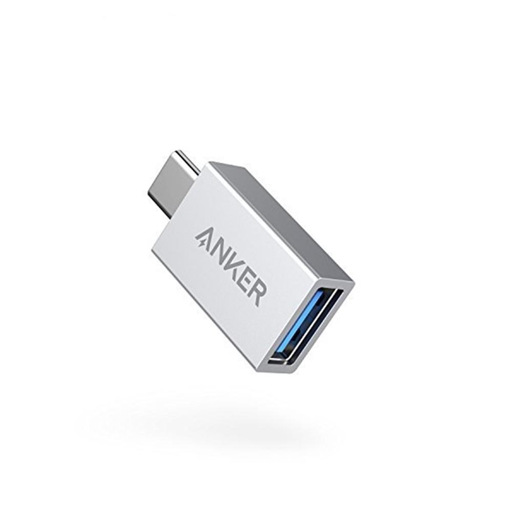 美國ANKER|Type-C轉USB轉接器 USB-C轉USB-A轉接頭(適OTG手機和Macbook;A81750系列 )