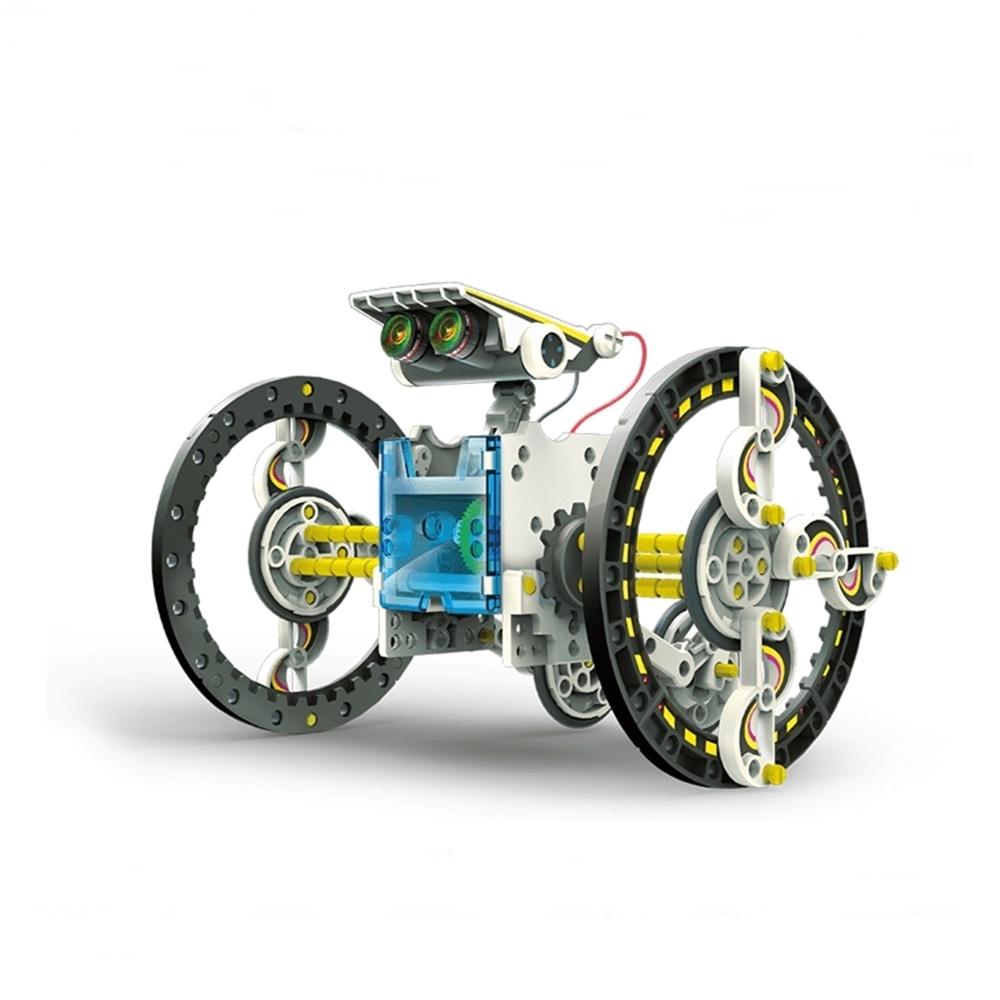台灣Pro'sKit寶工|科學玩具14合1太陽能變形機器人 ( GE-615 )