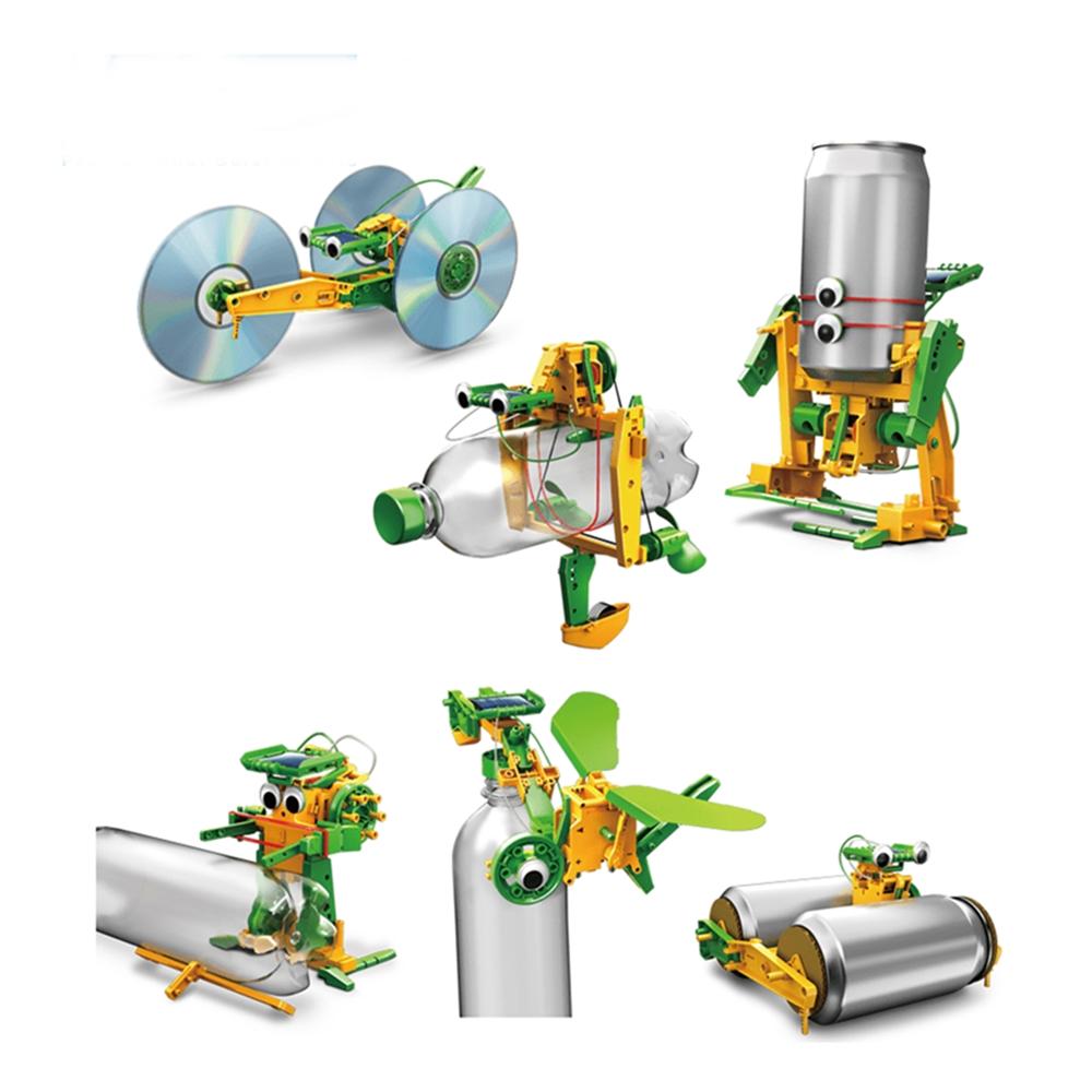 台灣Pro'sKit寶工|科學玩具太陽能環保六變形金剛 ( GE-616 )