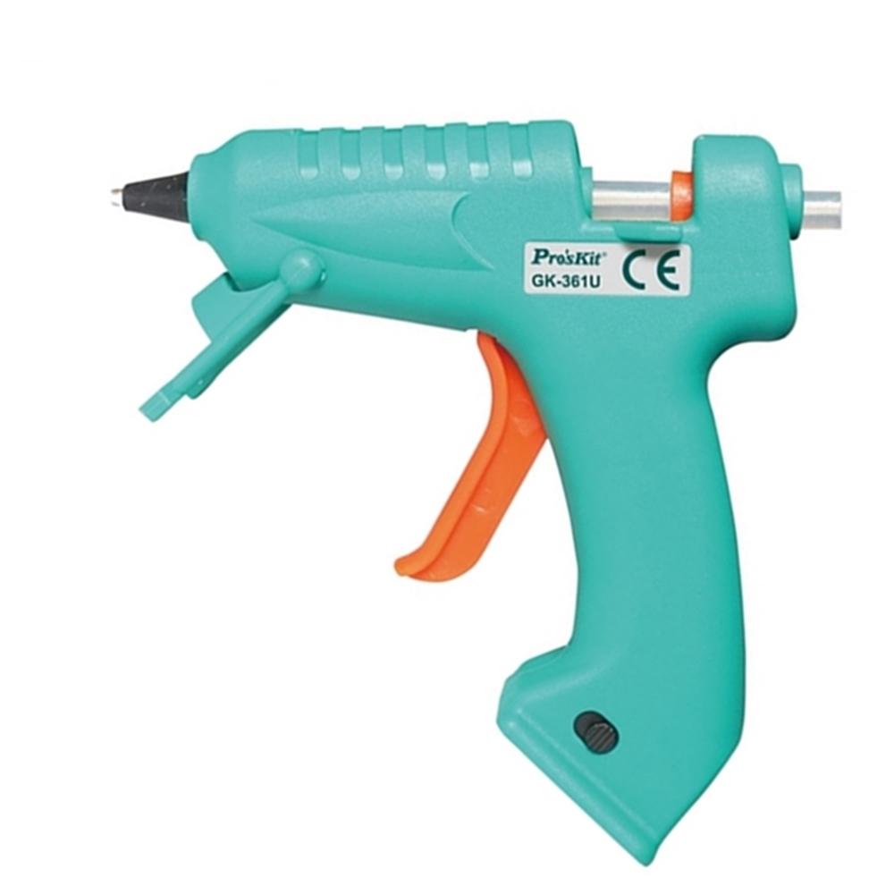 台灣Pro'sKit寶工|快速陶瓷加熱芯USB充電熱熔膠槍 熱溶膠槍( 無線式;GK-361U )
