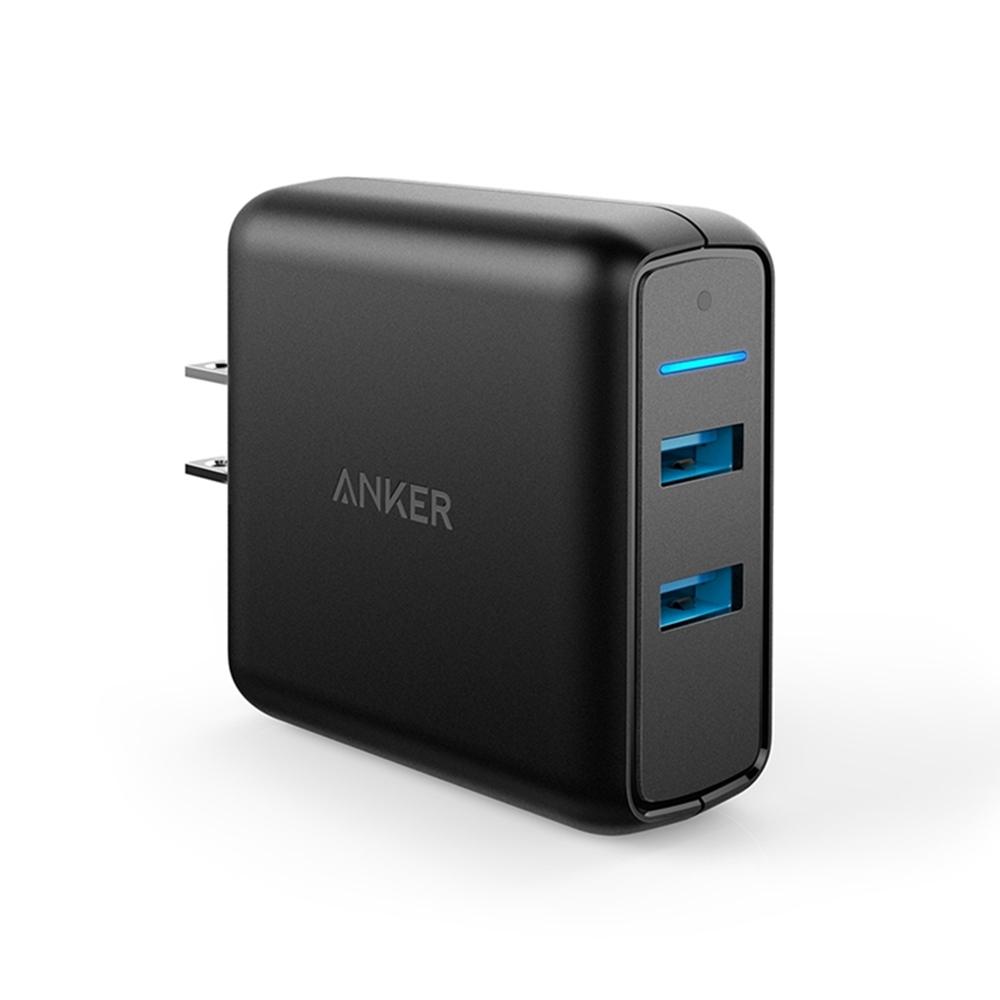 美國Anker|PowerPort Speed 2孔Quick Charge3.0 39W充電器 ( A2025111 )