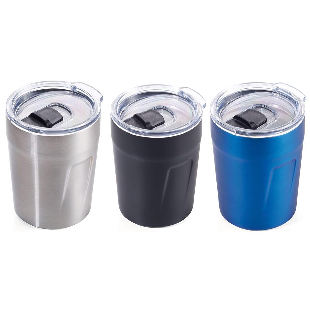 德國TROIKA|防溢雙層保溫杯ESPRESSO 濃縮咖啡杯(160ml含密封蓋;CUP65系列 )