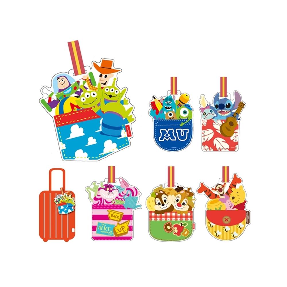日本Entrex|迪士尼行李標籤卡Luggage Tagpocket行李識別卡 ( #1448系列 )