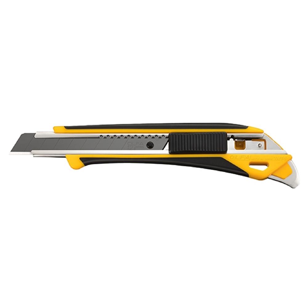 日本OLFA|黑刃X系列防滑中型12.5mm美工刀 (品番237B;XMT-1/3BB)