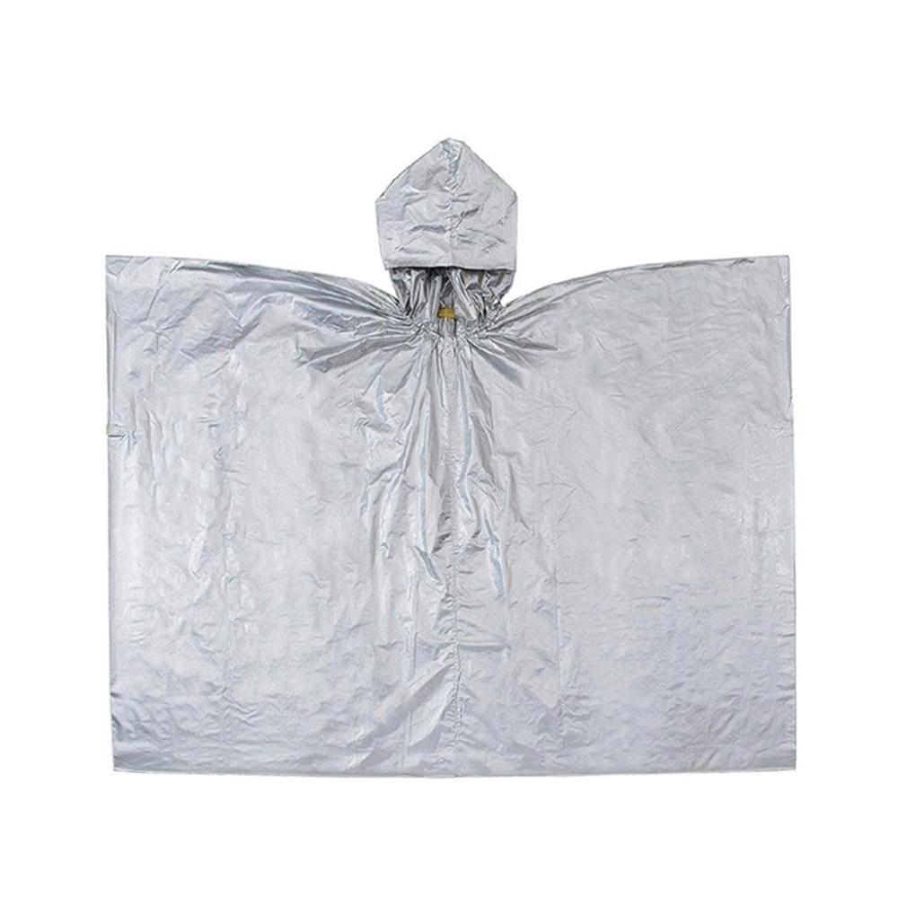 日本COGIT|兩用緊急救難保暖鋁箔毯帶帽 (380501)