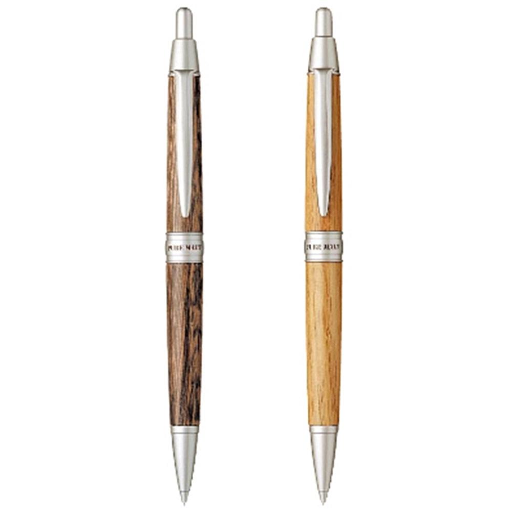 日本UNI|橡木桶PURE MATE原木筆身0.5mm自動鉛筆(M5-1025系列)