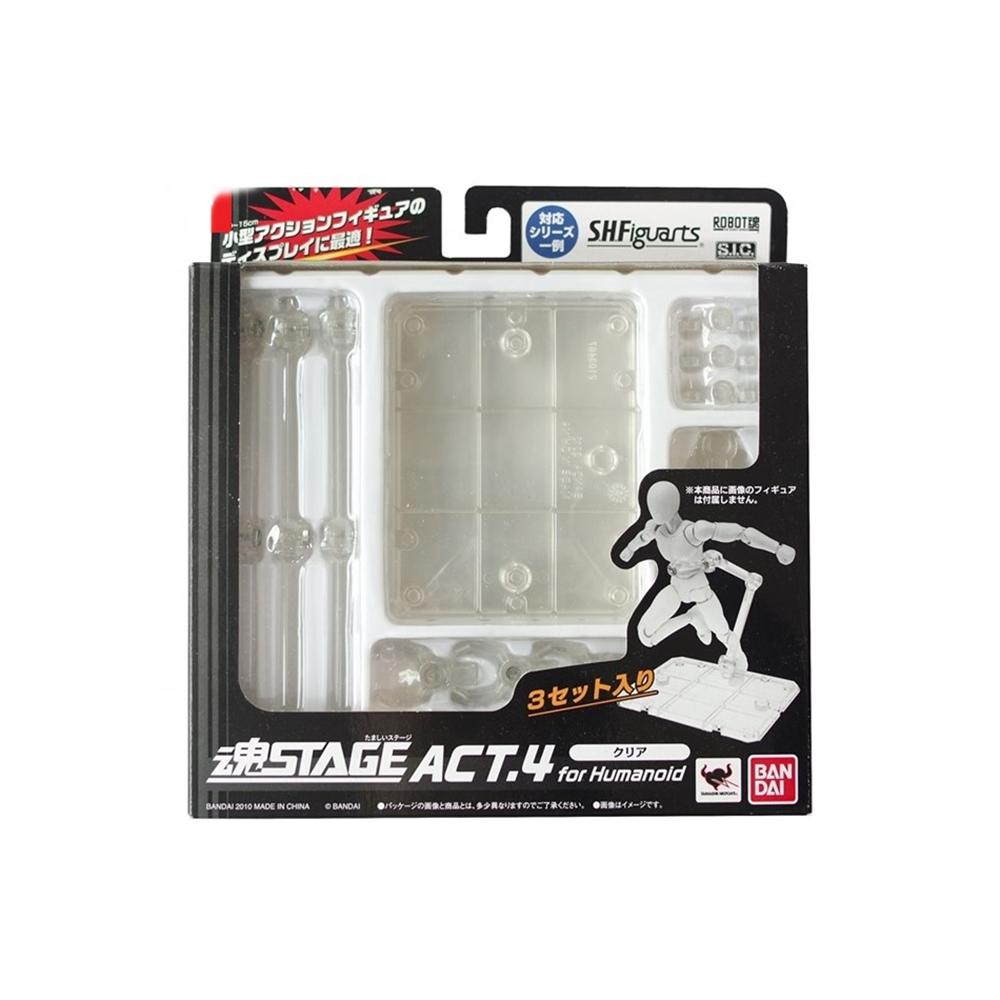 日本BANDAI萬代|模型展示台座支架ROBOT魂地台展示架 (STAGE ACT.4)