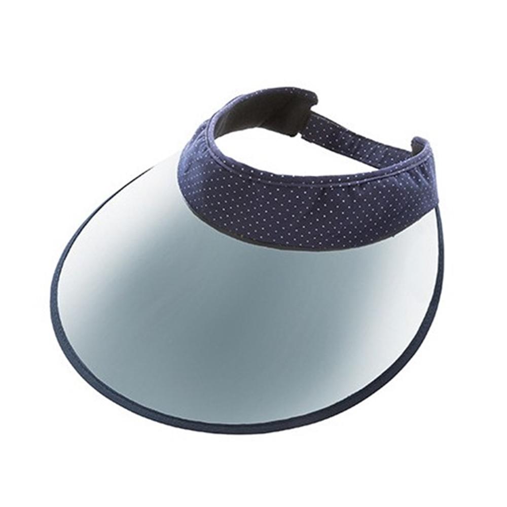 日本NEEDS|COOLMAX中空防曬遮陽帽 (#679879藍底白點/#682510單寧藍)