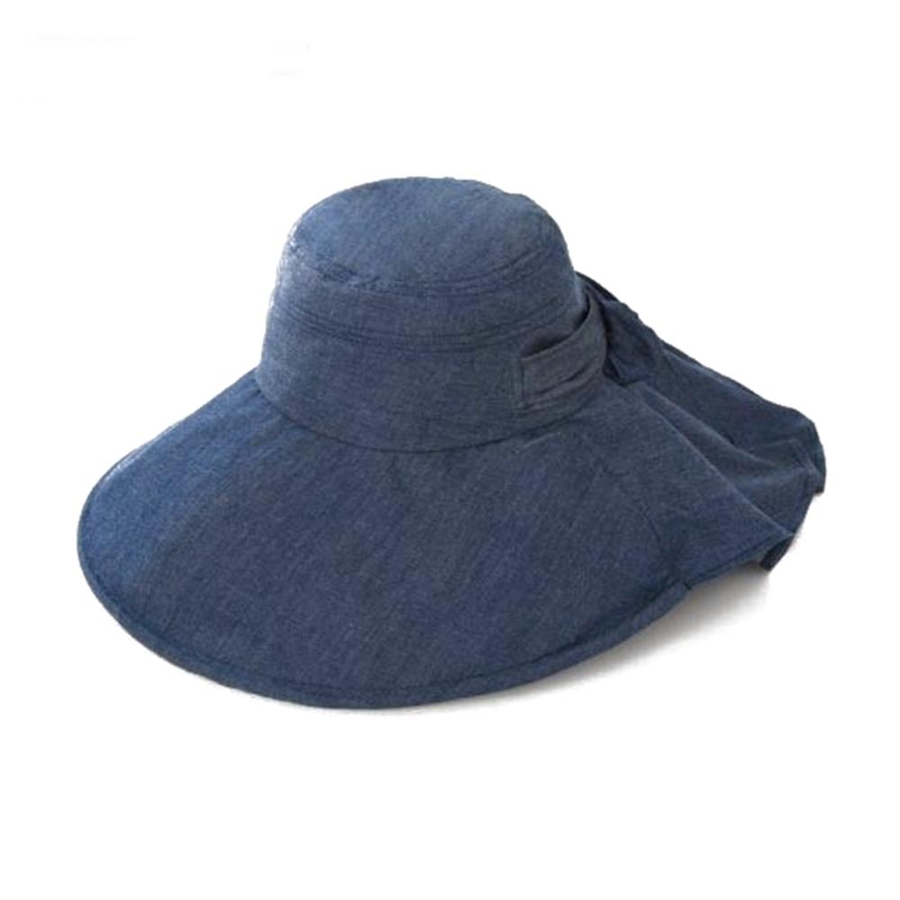 日本NEEDS|蝴蝶結後簾帽 ( #79817黑色/#82497深藍 )