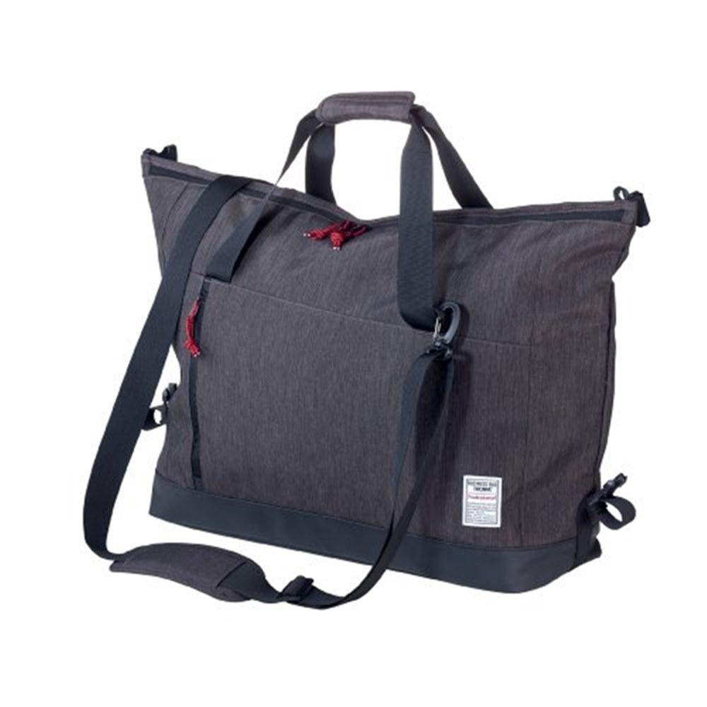 德國TROIKA|防水大型50升商務包週末包行李袋(兩用/肩背包+手提包;BBG53/GY)