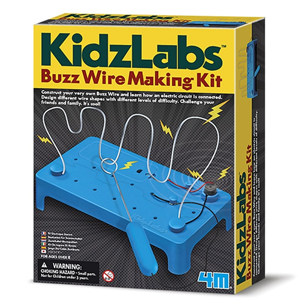 4M|KidzLabs電流急急棒Buzz Wire Making Kit 科學探索電路設計教具 (00-03232)