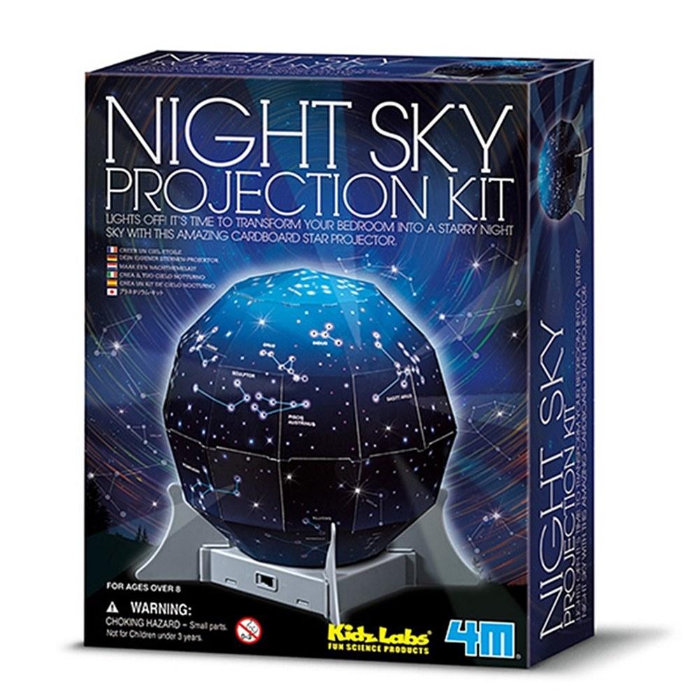 4M|創意星空燈Create A Night Sky星座燈露營燈Projection Kit天文星象科學教具 (00-13233)