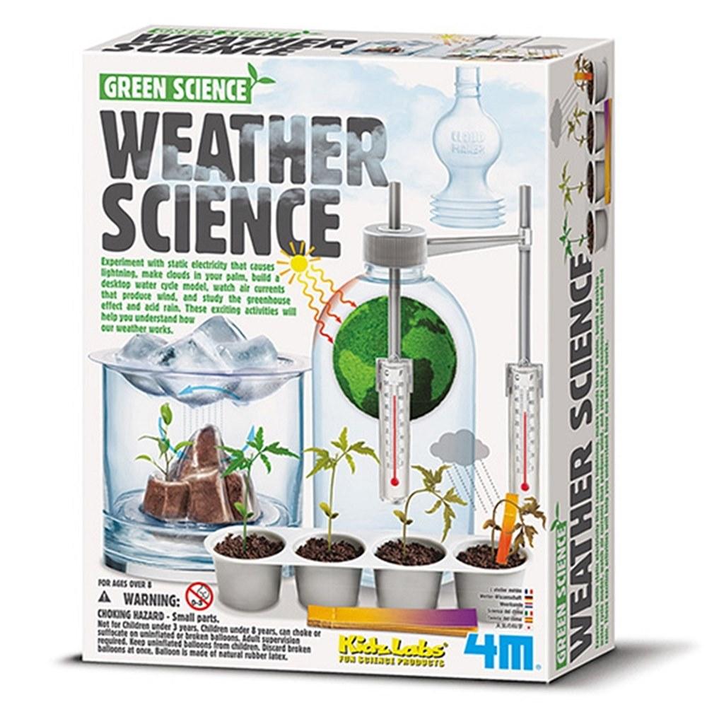 4M|大氣科學Weather Science氣象科學水循環天氣實驗小型氣象局科玩 (00-03402)