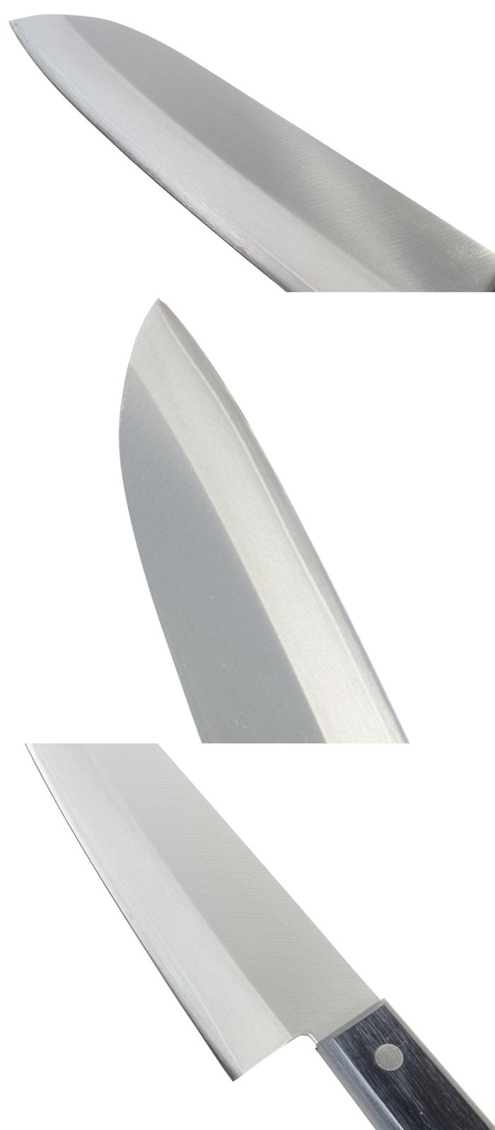 日本堺兒島|手工廚房三德刀165mm三德菜刀 (T-00028)