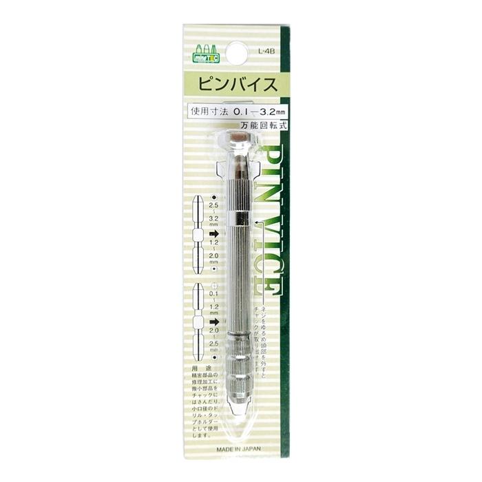 日本MINESHIMA|精密手鑽頭手把手柄套組 ( L-4B )