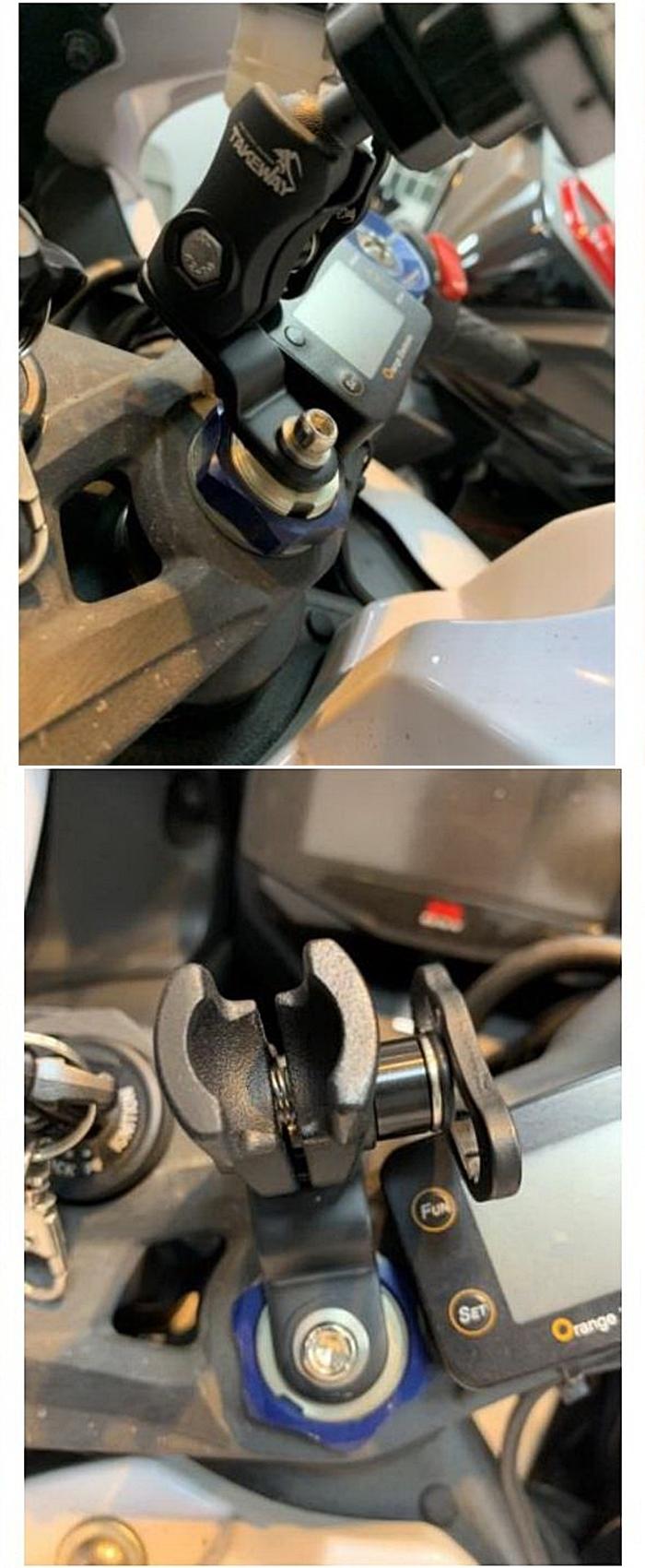 TAKEWAY|重型機車三角台專用膨脹螺絲組 ( T-EB01 )