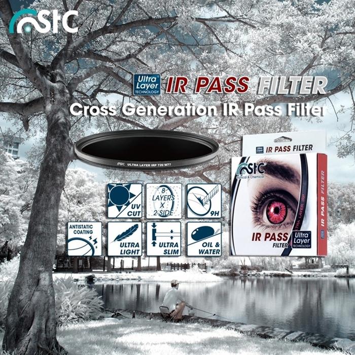 (複製)台灣STC 濾鏡IR紅外線濾鏡77mm濾鏡IR850 ( IR Pass 850T 77mm )
